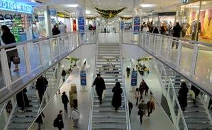 Les faits se sont produits dans le centre commercial des Halles de Strasbourg.