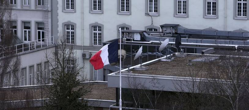 Photo d'illustration avec le siège de la DGSE, à Paris.
