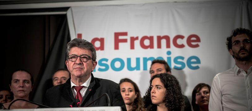 Jean-Luc Mélenchon le 26 mai 2019.