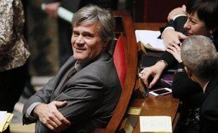 Le ministre de l'Agriculture Stéphane Le Foll, à l'Assemblée nationale le 14 janvier 2014
