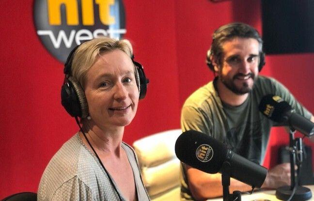 Katell Lagré et Simon Reungoat, journalistes pour Hit West.