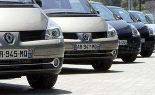 Certains véhicules sont vendus avec des rabais pouvant atteindre jusqu'à -40%.