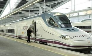 Le train à grande vitesse espagnol, l'AVE.