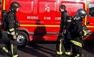 Illustration de pompiers de Paris.