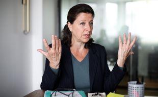 Agnès Buzyn, candidate (LREM) à la mairie de Paris, le 9 juin 2020.