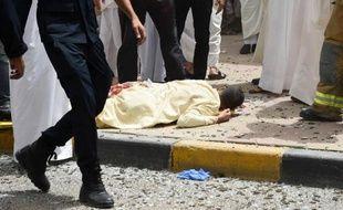 Une victime de l'attaque d'une mosquée chiite à Koweït-City, le 26 juin 2015