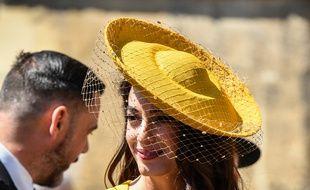 Amal Clooney au mariage princier