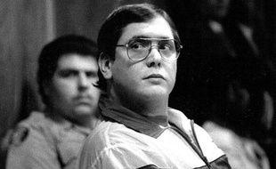 Manuel Pardo, le criminel qui aurait pu inspirer Dexter, lors de son procès en 1988.