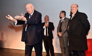 Jean-Claude Gaudin lors des voeux de FO.
