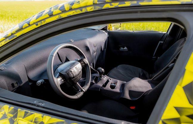 Opel Astra 2021 Prototype