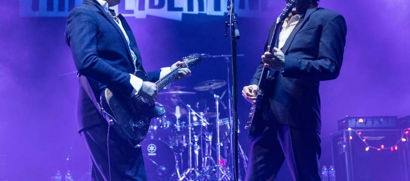 Les musiciens des Libertines, Pete Doherty et Carl Barât