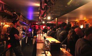 Illustration d'un bar, ici à Rennes.