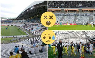 Les stades de Ligue 1 ces derniers mois, pas vraiment la joie