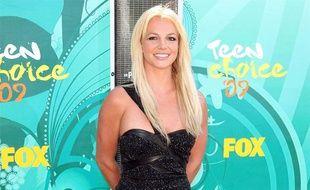 La chanteuse Britney Spears, lors des Teen Choice Awards à Universal City en Californie, le 9 août 2009.