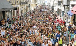 La fréquentation de l'Europride (du 10 au 20 juillet) a été bien en deçà de celle qui était espérée.