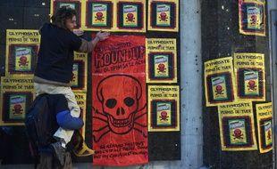Manifestation contre les pesticides chimiques