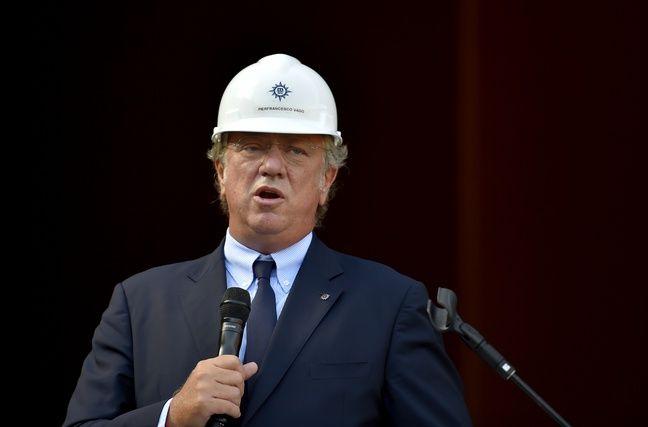 Pierfrancesco Vago, leprésident exécutif deMSC Croisières.