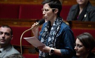 La députée Caroline Abadie, à l'Assemblée le 17 janvier 2018.