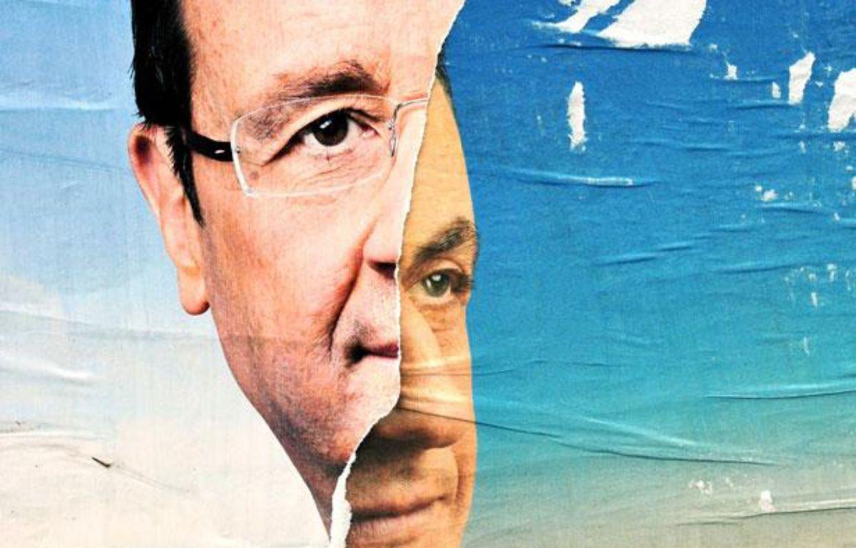 Nicolas Sarkozy et François Hollande sont les deux candidats en lice pour ce second tour de l'élection présidentielle, le 6 mai 2012 – ALFRED/SIPA