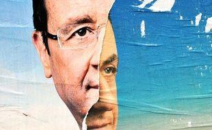Nicolas Sarkozy et François Hollande sont les deux candidats en lice pour ce second tour de l'élection présidentielle, le 6 mai 2012