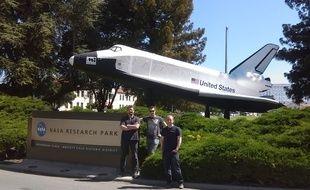 L'équipe VR2Planets à la NASA.