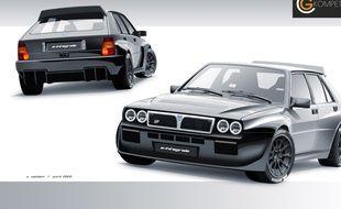 Lancia Delta GC Kompetition