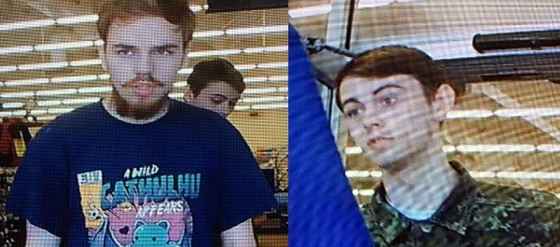 Le Canada a lancé une vaste chasse à l'homme pour retrouver ces deux jeunes suspects.