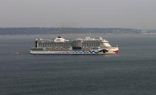 Un bateau de croisières Aida Cruises.