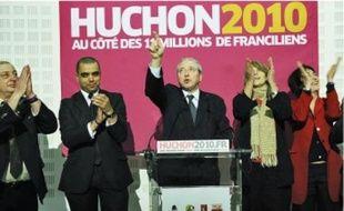 Au PS, Jean-Paul Huchon a affiché une satisfaction toute relative aux vues des résultats.