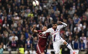 Le match entre l'OL et le Besiktas a démarré avec 45 min de retard, le 13 avril 2017.