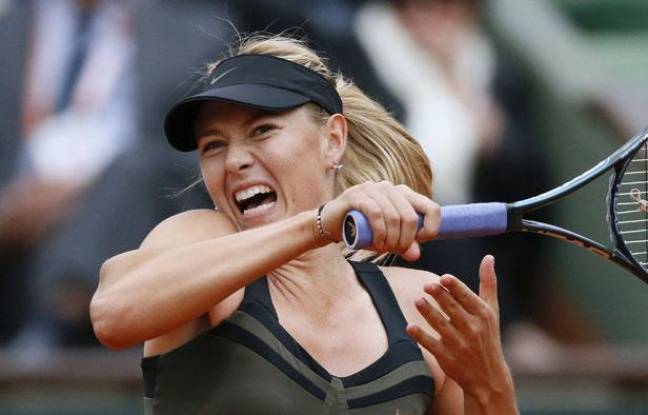 La Russe Maria Sharapova, le 5 juin 2012, àRoland-Garros.