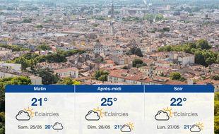 Météo Nîmes: Prévisions du vendredi 24 mai 2019