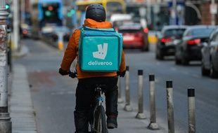 La blague de Deliveroo n'a pas séduit les clients de la plateforme de livraison.