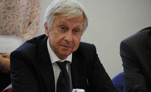 Jean-Pierre Masseret, candidat socialiste en Alsace-Champagne-Ardenne-Lorraine.