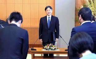 Le prince héritier japonais Naruhito, à Tokyo le 5 septembre 2018.