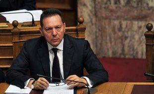 """Le ministre grec des Finances, Yannis Stournaras, a indiqué vendredi que les négociations avec les créanciers du pays (UE-BCE-FMI), dont le retour à Athènes pour reprendre l'audit trimestriel des comptes a pris du retard, étaient """"ardues""""."""