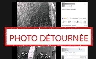 Gilets jaunes»  Attention à ces photos qui détournent Mai-68 sur ... d873fd1ed10