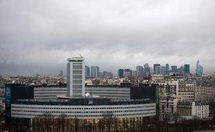La Maison de la radio, siège des stations de Radio France, à Paris