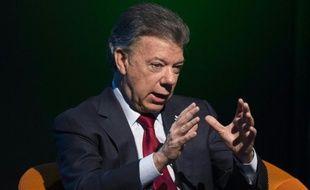 Le président colombien Juan Manuel Santos à Washington, le 5 février 2016