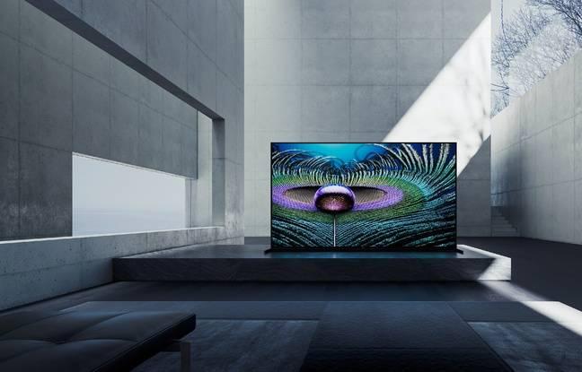 Sony équipe ses nouveaux téléviseur d'un processeur qui fait le point sur les images comme l'oeil humain.