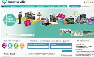 D'ici mai, la RATP proposera un site spécialement dédiée à son offre de métro dans la capitale sur metro.paris.