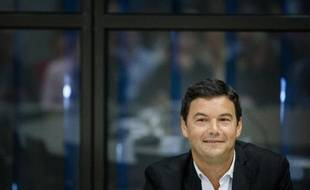 L'économiste français Thomas Piketty, le 5 novembre 2014 à La Haye