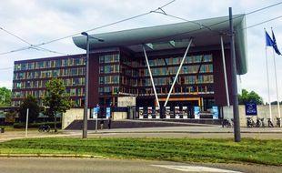 L'Agora du Conseil de l'Europe, à Strasbourg.