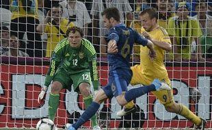 Le Français Yohan Cabaye, le 15juin 2012, contre l'Ukraine, à Donetsk.