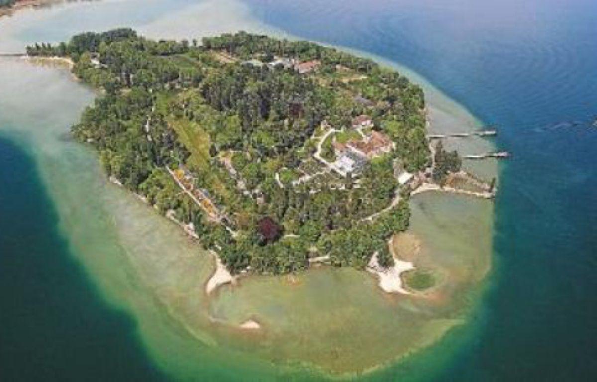 Aménagée en parc botanique, l'île de Mainau est également appelée «l'île aux fleurs». –  M. KUZMANOVIC / REUTERS