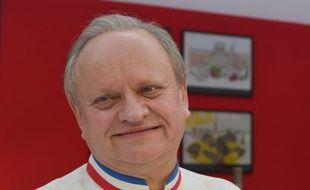 Le chef Joël Robuchon