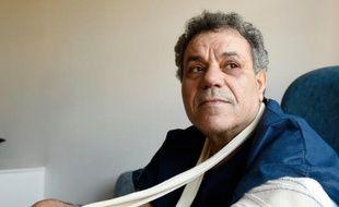 Ahmed, un Egyptien sans-papiers blessé par balle lors de l'opération antiterroriste menée à Saint-Denis, le 23 novembre 2015 à Paris