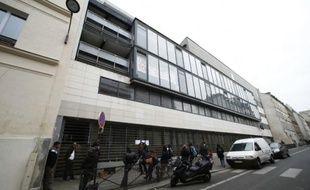 Le lycée Jean-Jaurès dans le XIXe arrondissement de Paris, le 22 avril 2016