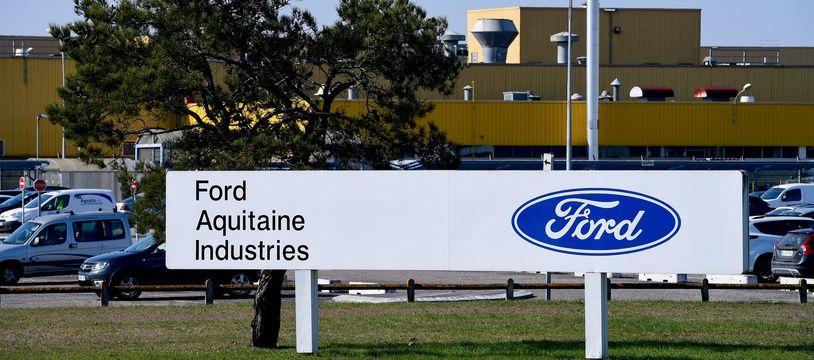 Le site de l'entreprise Ford à Blanquefort.