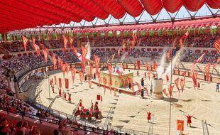 L'incontournable spectacle de gladiateurs du Puy du Fou.